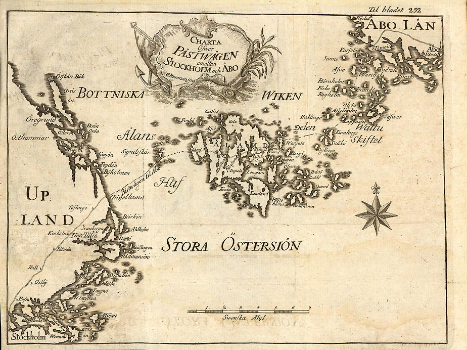 Postvägen Karta